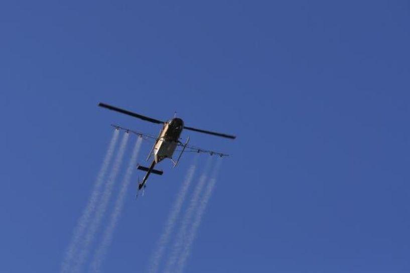 Αεροψεκασμοί για την Καταπολέμηση των κουνουπιών στο αρδευτικό Κλειδιού