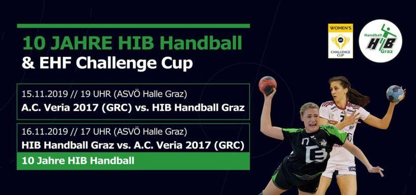 Τηλεοπτικά και τα δύο παιχνίδια της HIB GRATZ με την Βέροια 2017