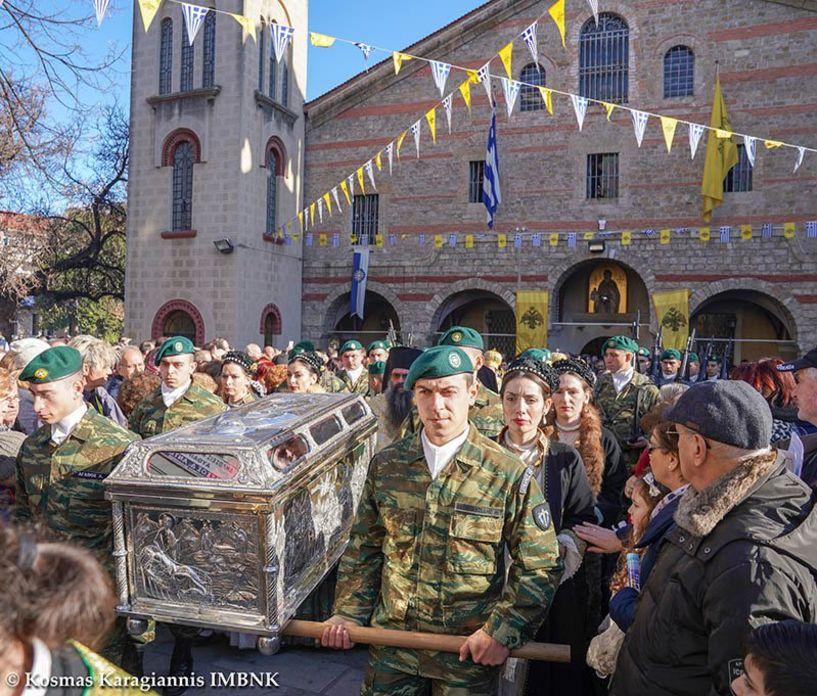 Βέροια: Ποιοι δρόμοι θα κλείσουν για τον εορτασμό του Πολιούχου Αγίου Αντωνίου και τη λιτανεία του ιερού λειψάνου