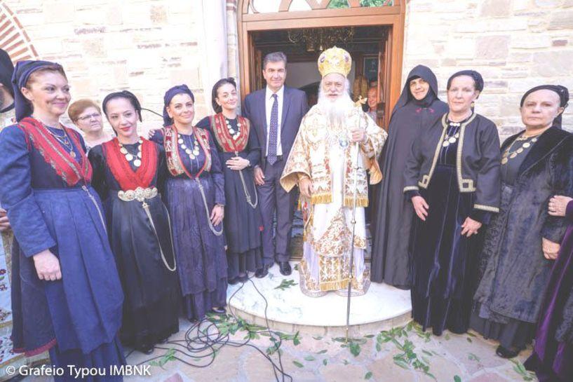 Με μεγάλη λαμπρότητα η γιορτή των Αγίων Πάντων στο ομώνυμο μοναστήρι