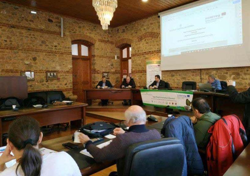 Κ. Καλαϊτζίδης στο διεθνές συνέδριο  «AGROLABS»: «Υλοποιούμε μια διεθνή συνεργασία  στον αγροδιατροφικό τομέα  που μπορεί να αποδώσει  πολλαπλά και καινοτόμα οφέλη στην Ημαθία»