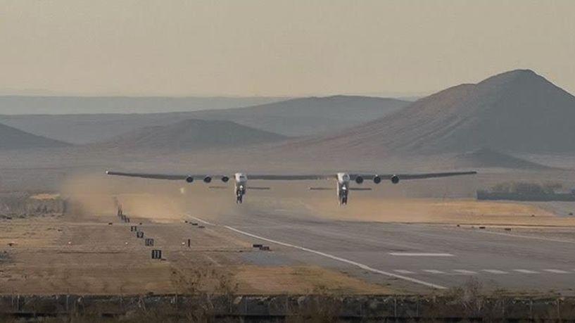 Πρώτη πτήση για το μεγαλύτερο αεροπλάνο του κόσμου