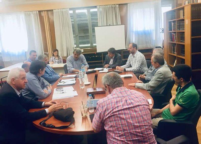 Ευρεία σύσκεψη στο Υπουργείο Υγείας για τα ζητήματα των διαγνωστικών εργαστηρίων