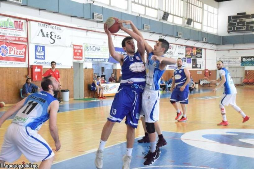Γ' Εθνική . Σπουδαία νίκη του ΑΟΚ Βέροιας 75-58 την Πτολεμαίδα.