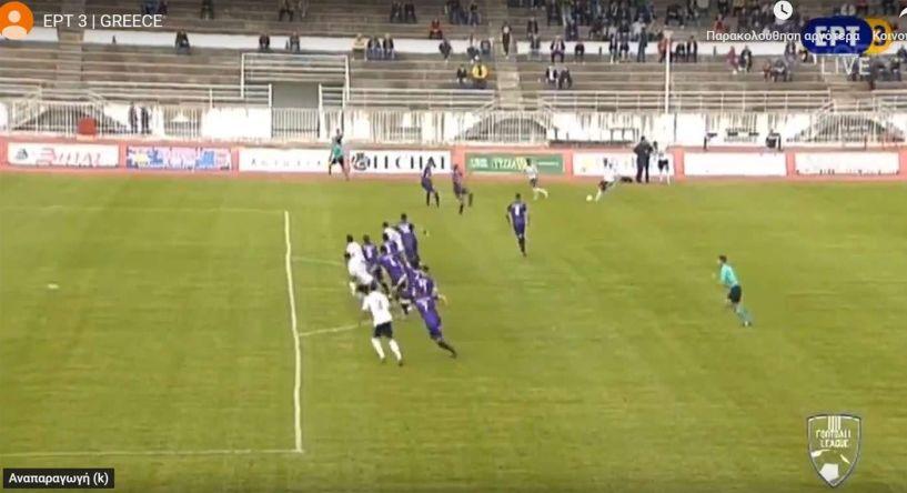ΑΟ Τρίκαλα- ΝΠΣ Βέροια 2-1. Καθαρό οφσάιτ το πρώτο γκολ