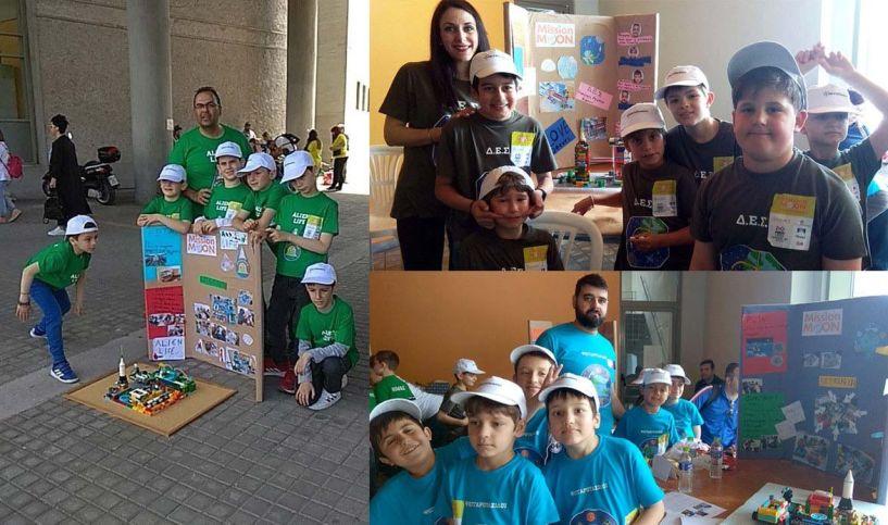 Η Δικτύωση συγχαίρει τις ομάδες που εκπροσώπησαν την ακαδημία  στον πανελλήνιο  διαγωνισμό Ρομποτικής First Lego League Junior