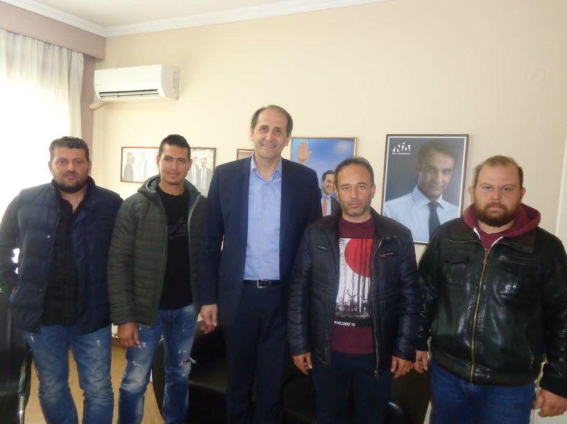 Συνάντηση με τον Απόστολο βεσυρόπουλο πραγματοποίησε  ο Αγροτικός Σύλλογος Ημαθίας - Τα θέματα που συζητήθηκαν