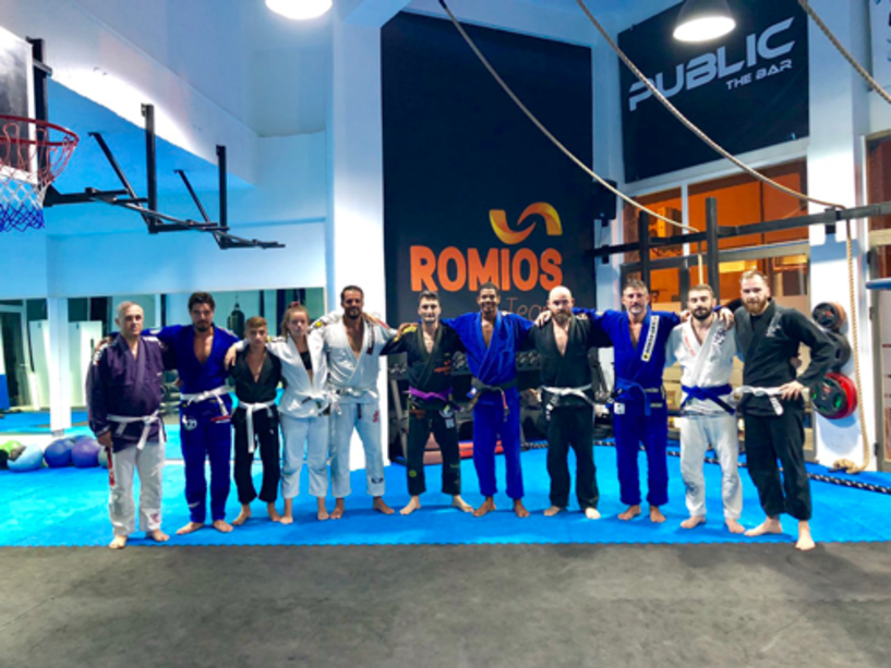 Ο Βραζιλιάνος αθλητής  Laycon Assunsao στο Ρωμιό