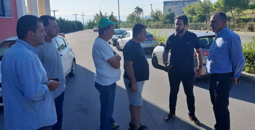 Στον ΕΛΓΑ ο Τάσος  Μπαρτζώκας και αντιπροσωπεία αγροτών - Συνάντηση με τον αντιπεριφερειάρχη Ημαθίας μετά τα καταστροφικά καιρικά φαινόμενα της Τετάρτης στην Ημαθία