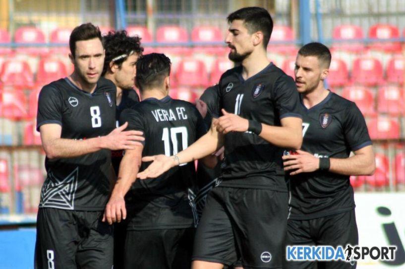 Άνετη η 9η συνεχόμενη νίκη της Βέροιας 3-0 τον ΠΑΟ Κουφαλίων.
