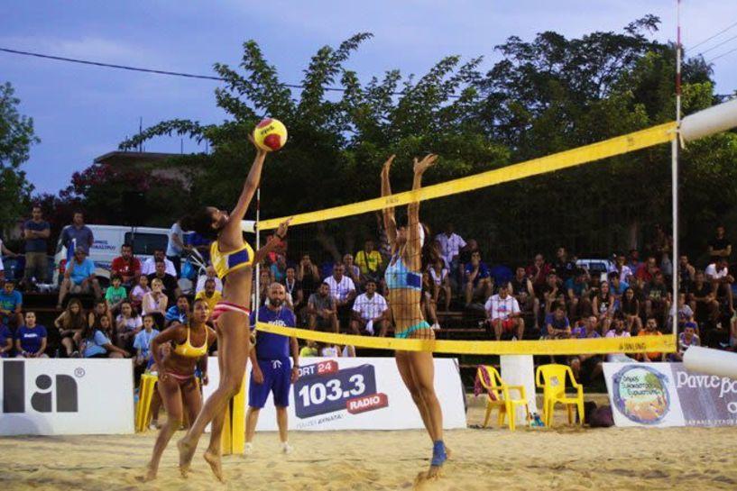Συνεχίζονται οι δηλώσεις συμμετοχής για το «Naoussa Street Beach Volley.v.1»