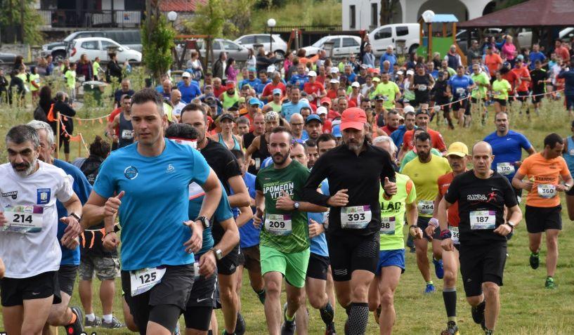 Αποτελέσματα Σ.Δ.Βέροιας απο τον 9o αγώνα ορεινού τρεξίματος Ξηρολιβάδου 14χλμ