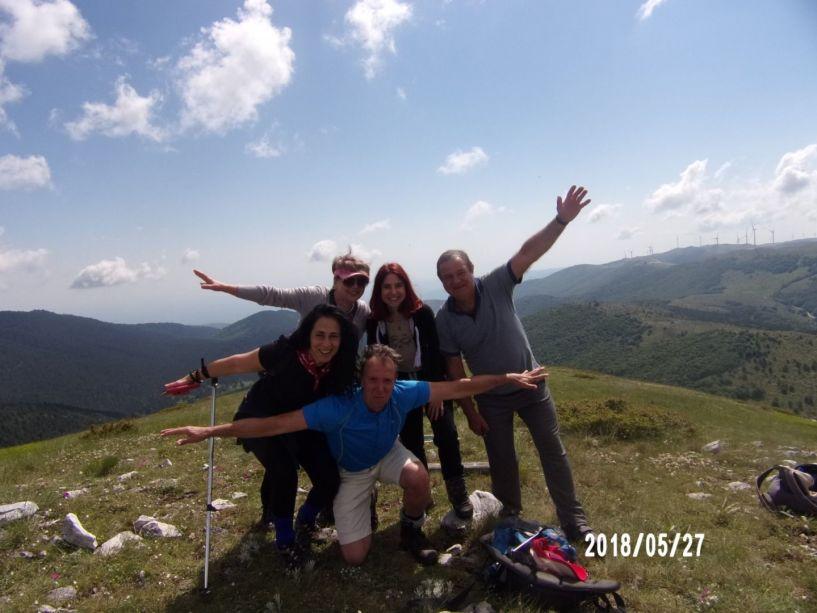 Με τους ορειβάτες Βέροιας στο Βέρμιο(κορυφή Στουρνάρι 1769 μ)