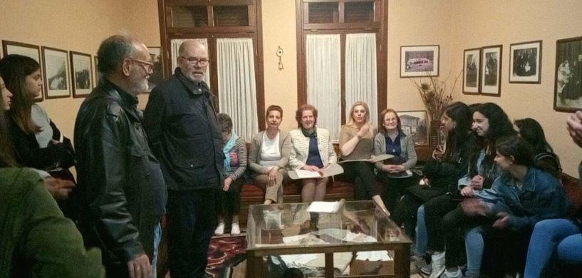 Το 5ο ΓΕΛ Βέροιας και 35 μαθητές από σχολεία του Εξωτερικού στο Σύλλογο Βλάχων Βέροιας - Στα πλαίσια του Erasmus+