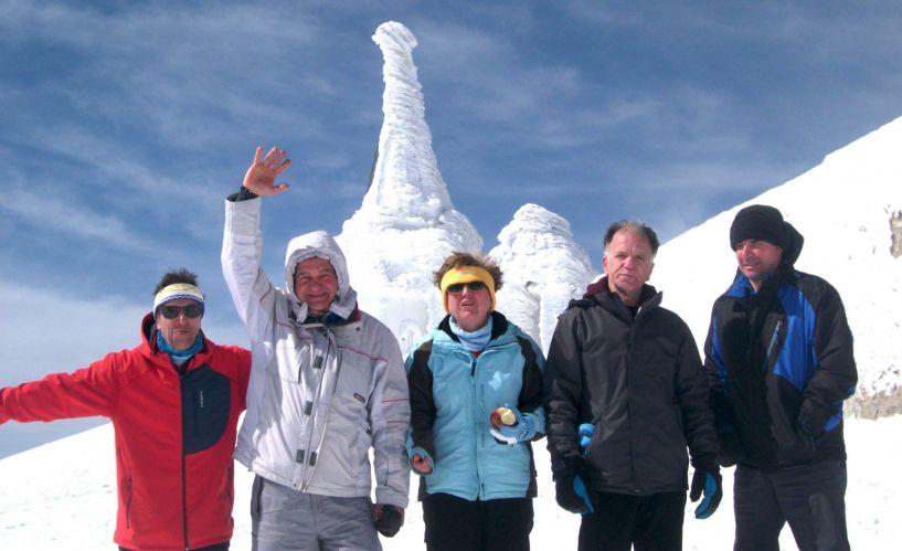 ΒΟΡΑΣ 2524 μ. - Πορεία στο χιόνι με τους Ορειβάτες Βέροιας