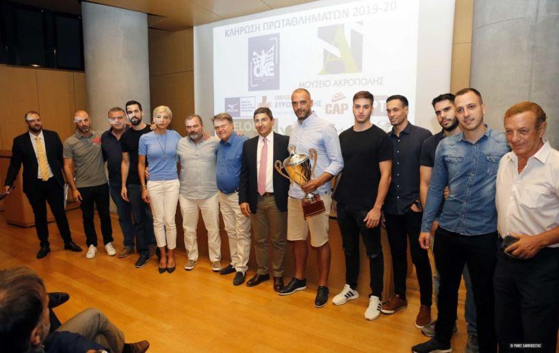 Χαντ μπολ Τιμήθηκαν οι κορυφαίες ομάδες και καλύτεροι της σεζόν