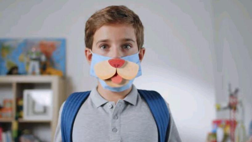 Μάσκες: Νέα καμπάνια της ΓΓ Πολιτικής Προστασίας ενόψει του ανοίγματος των σχολείων- Βίντεο