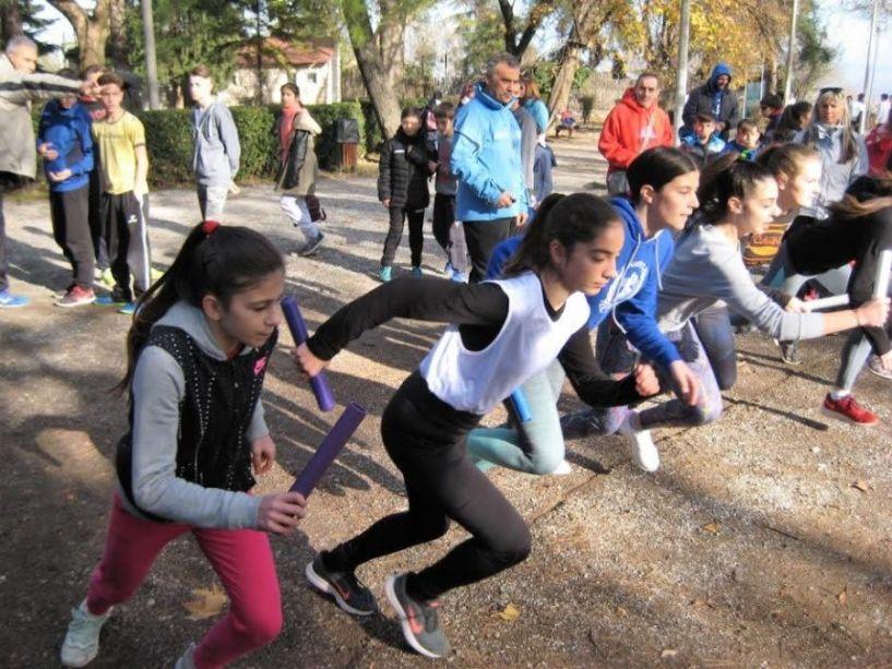 Αγώνες ΑθλοΠΑΙΔΕΙΑΣ ανωμάλου δρόμου Δημοτικών, Γυμνασίων και Λυκείων περιοχής Νάουσας