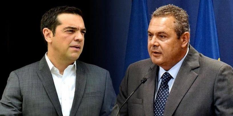 Κρίσιμο ραντεβού σήμερα,  Τσίπρα – Καμμένου, για τις πολιτικές εξελίξεις