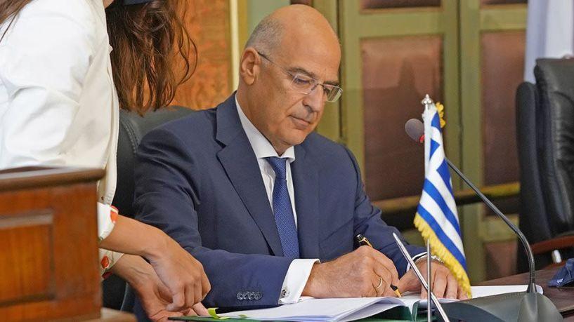 Δένδιας: Άμεσα στη Βουλή η συμφωνία με την Αίγυπτο - Καλούμε την Τουρκία να μην αποχωρήσει από το διάλογο
