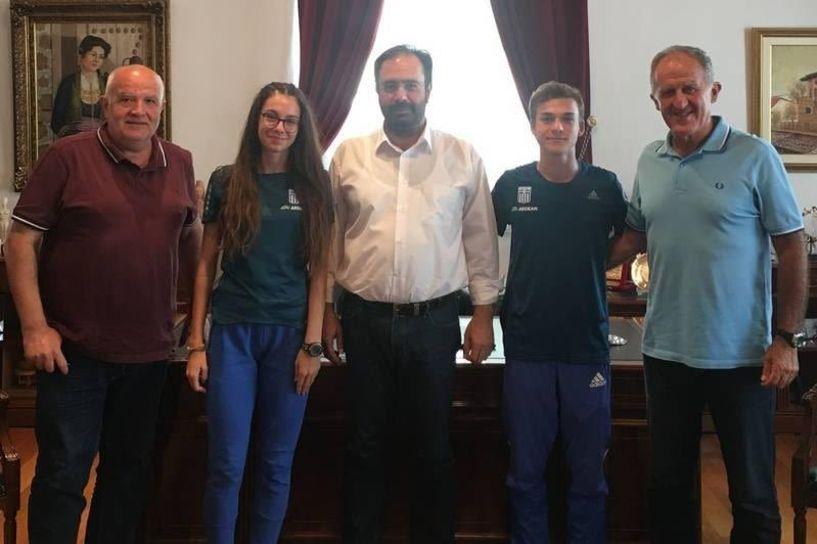 Συγχαρητήρια του Δημάρχου Βέροιας στους Κελεπούρη και Ιωαννίδου