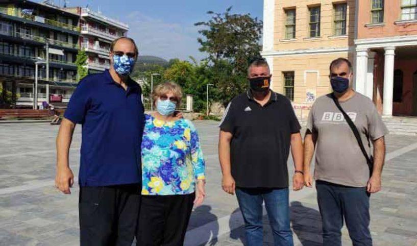 Φιλοξενία και ξενάγηση δυο Αμερικανών δημοσιογράφων σε τουριστικά σημεία της Βέροιας από το Τμήμα Τουρισμού του Δήμου