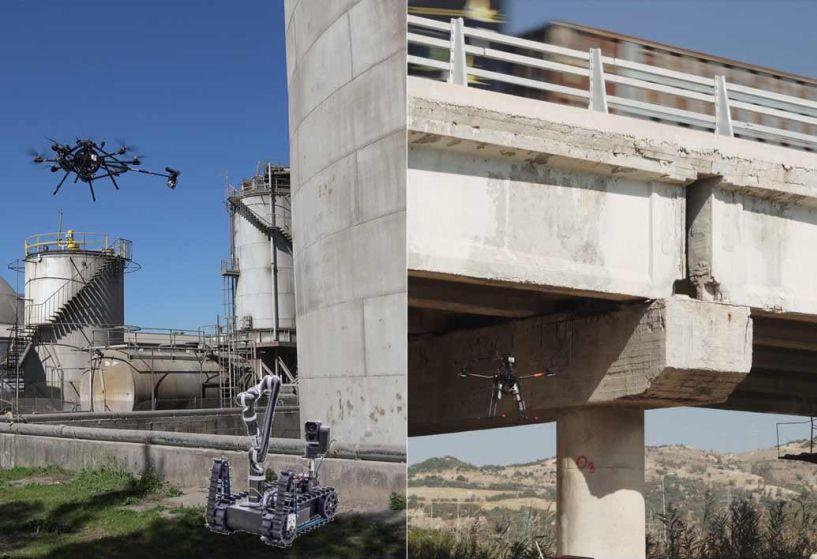 Με επίγεια και ελικοπτερικά ρομποτικά οχήματα θα γίνει η επιθεώρηση στη σήραγγα του Μετσόβου της Εγνατίας Οδού