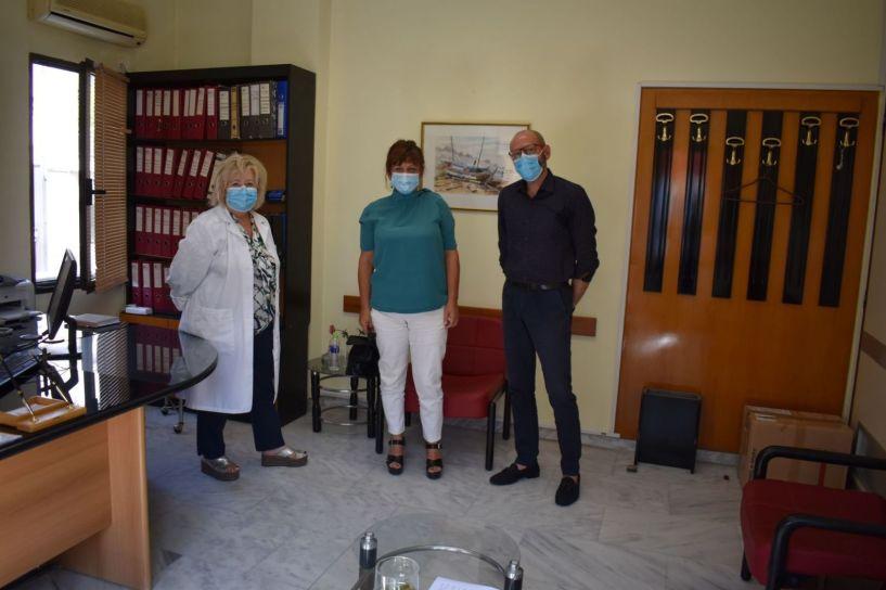 Επίσκεψη Φρόσως Καρασαρλίδου στο Κέντρο Υγείας Βέροιας. Να ενισχυθεί άμεσα η Πρωτοβάθμια Φροντίδα Υγείας