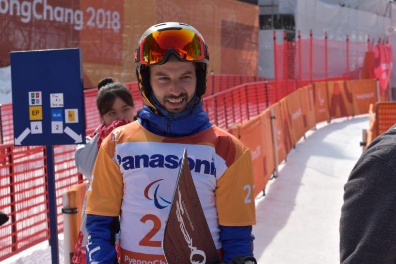 19ος με πολύ καλή εμφάνιση ο Κωνσταντίνος Πετράκης στο Snowboard Cross των Χειμερινών Παραολυμπιακών Αγώνων PyeongChang2018!