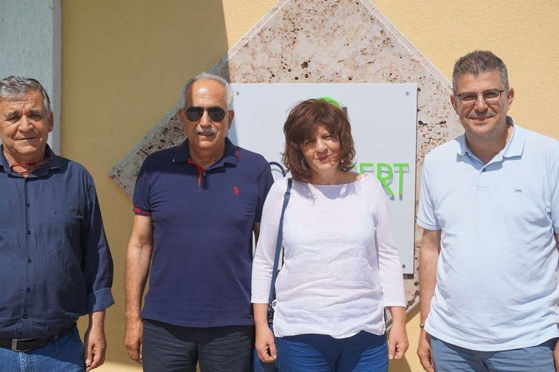 Τα τρέχοντα προβλήματα στην προώθηση των αγροτικών προϊόντων, συζήτησε η  Φρόσω Καρασαρλίδου με μετόχους και στελέχη της  NOVACERT