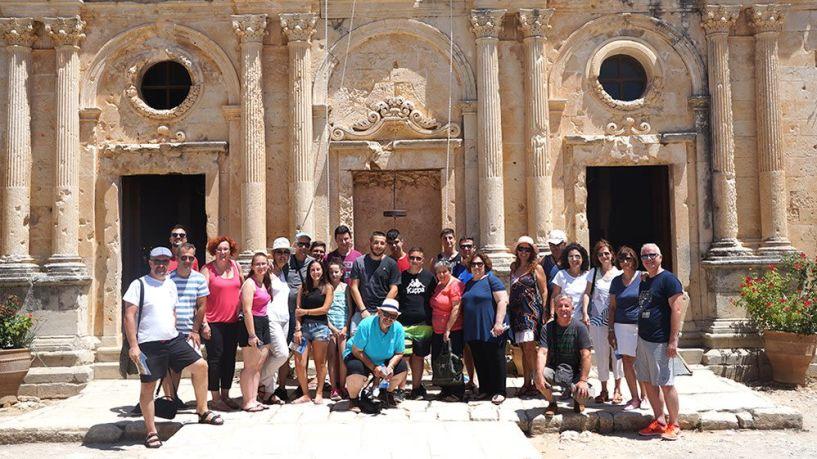 Η Εύξεινος Λέσχη Ποντίων Νάουσας στην ετήσια  εκδήλωση του Πολιτιστικού Συλλόγου Ασή Γωνίας Χανίων στην Κρήτη