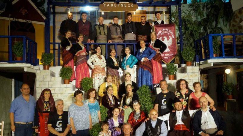 Η Εύξεινος Λέσχη Ποντίων Νάουσας στο 24ο Φεστιβάλ Λαϊκού Χορού στο Σούλι Πατρών
