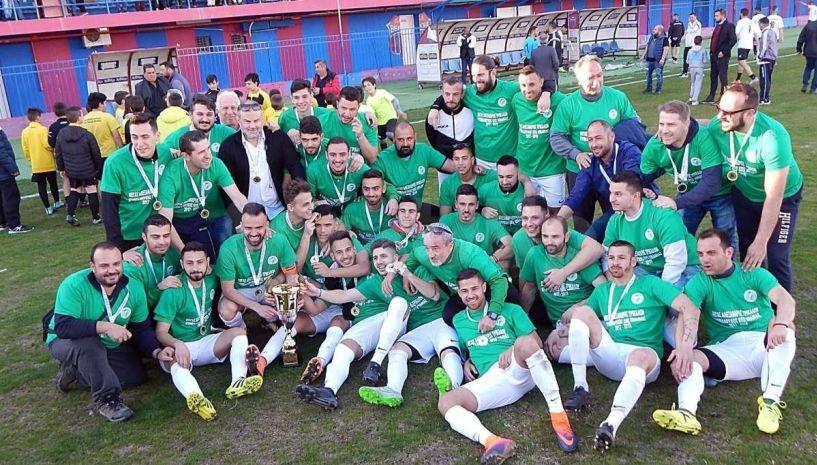 Ο Μ. Αλέξανδρος Τρικάλων κυπελλούχος Ημαθίας ,νίκησε 3-0 τον ΠΑΟΚ Αλεξάνδρειας