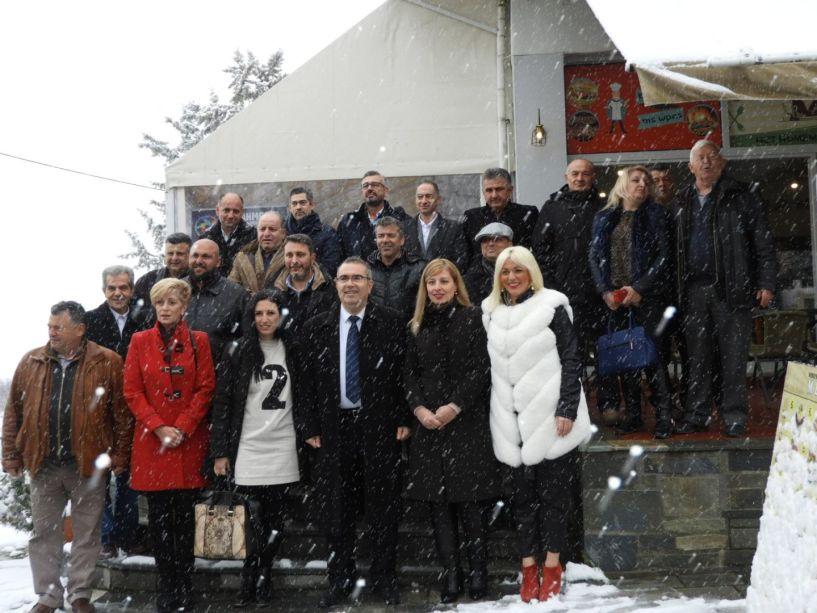 Το πρόγραμμα του για τον τουρισμό και 27 υποψήφιους του συνδυασμού του παρουσίασε ο Παύλος Παυλίδης στη Βεργίνα (φωτο)