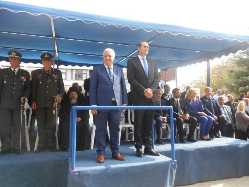 Με κάθε επισημότητα πραγματοποιήθηκε ο εορτασμός της απελευθερώσεως της Αλεξάνδρειας