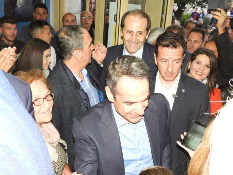 Κ. Μητσοτάκης από τη Βέροια: «Καμία Περιφέρεια στον ΣΥΡΙΖΑ, ακόμα περισσότερες περιφέρειες στη Ν.Δ.»