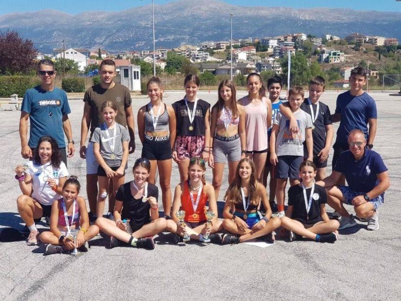 Επιτυχίες του ΕΟΣ Νάουσας στους Διεθνείς Αγώνες Ρόλλερ