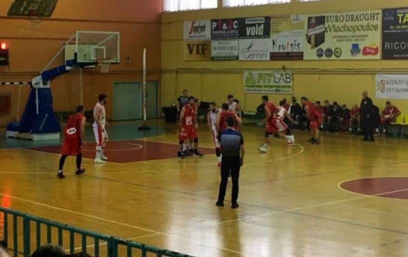 Μπάσκετ Γ΄Εθνική. Φαίακας Κέρκυρας- Φίλιππος Βέροιας 71-64