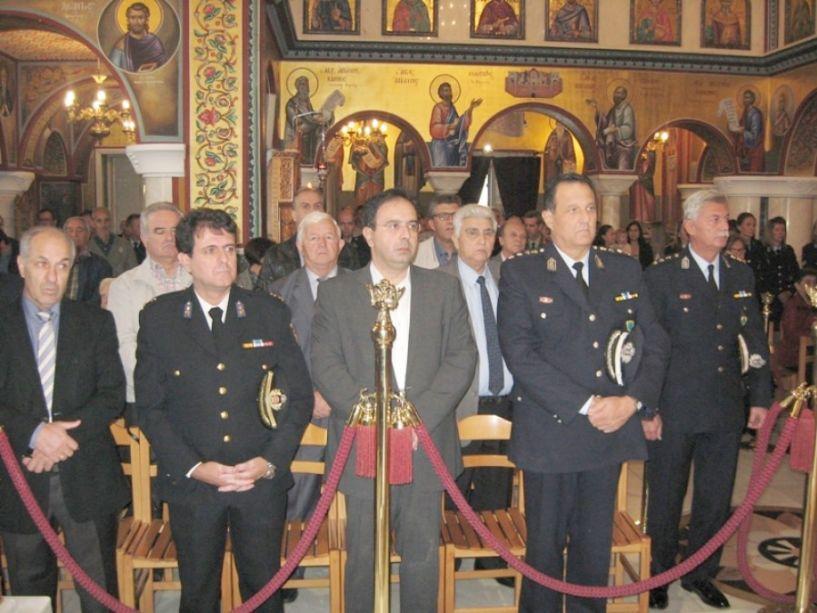 Τον Άγιο Αρτέμιο και την «Ημέρα της Αστυνομίας» τίμησε η Διεύθυνση Αστυνομίας Ημαθίας (φωτο)