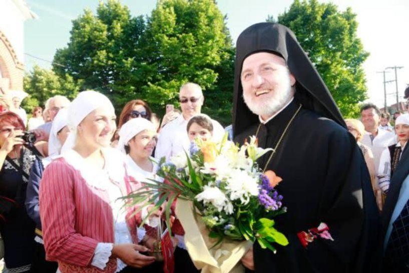 Στη Νέα Πέλλα ο νέος αρχιεπίσκοπος Αμερικής Ελπιδοφόρος (φωτο)