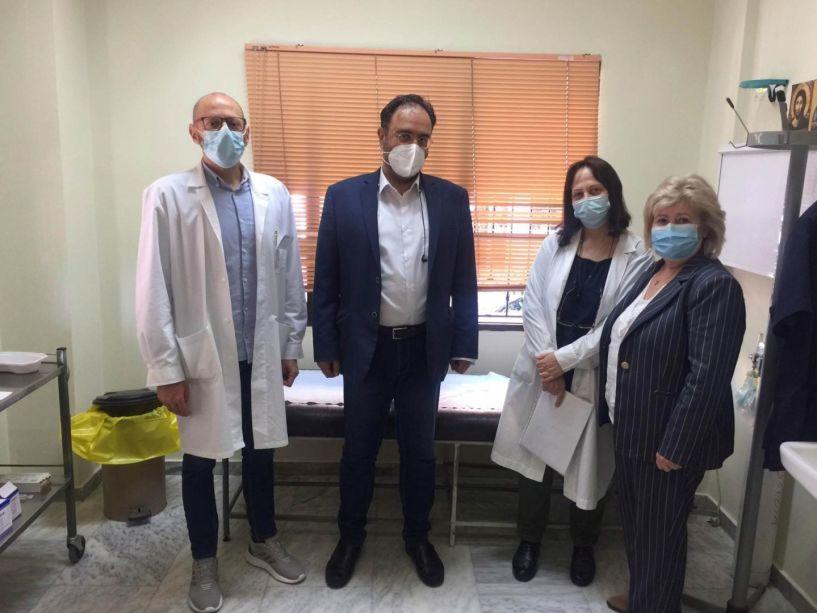 Δήμαρχος Βέροιας: «Υποδειγματική η διαδικασία εμβολιασμού στο Κέντρο Υγείας Βέροιας»
