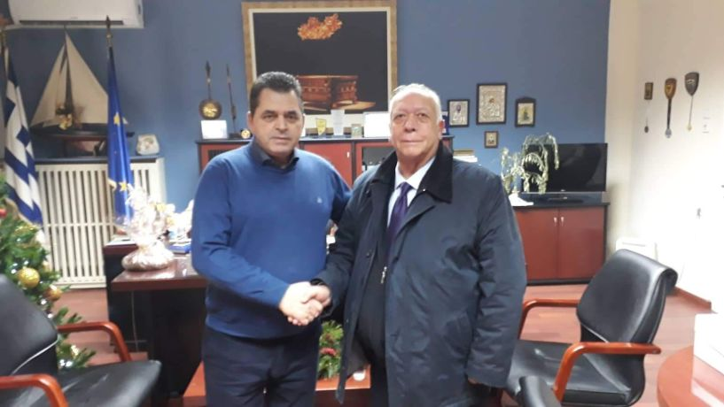 Επίσκεψη Απ.Εμμανουηλίδη ως υποψηφίου δημάρχου στον Αντιπεριφερειάρχη
