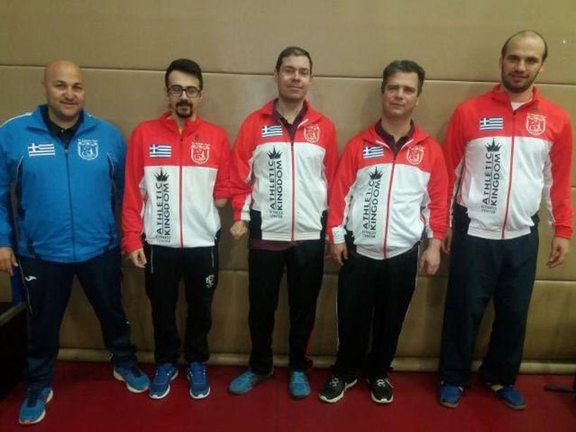 Πανελλήνιο Πρωτάθλημα Para Table Tennis 2020 - Με 4 αθλητές το
