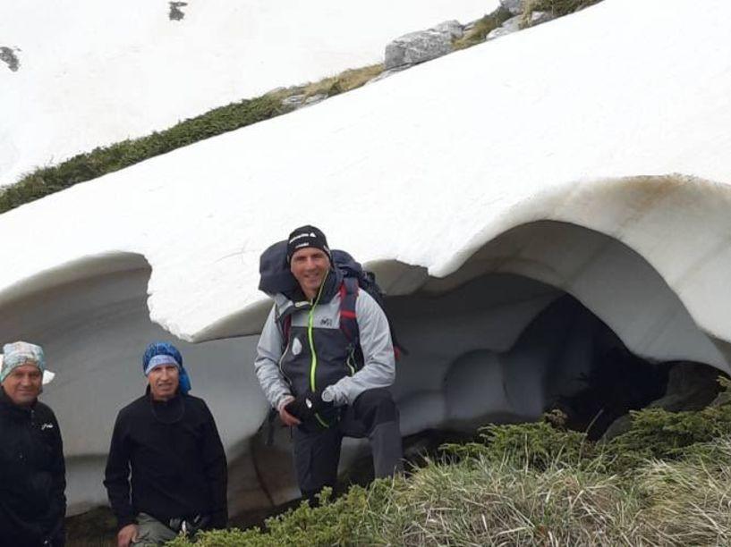 Στο Παγγαίο τρεις ορειβάτες του ΕΟΣ Νάουσας