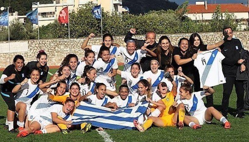 Εθνική κορασίδων. Αφιέρωσαν τη νίκη στην τραυματία Αναστασία Σιδηροπούλου