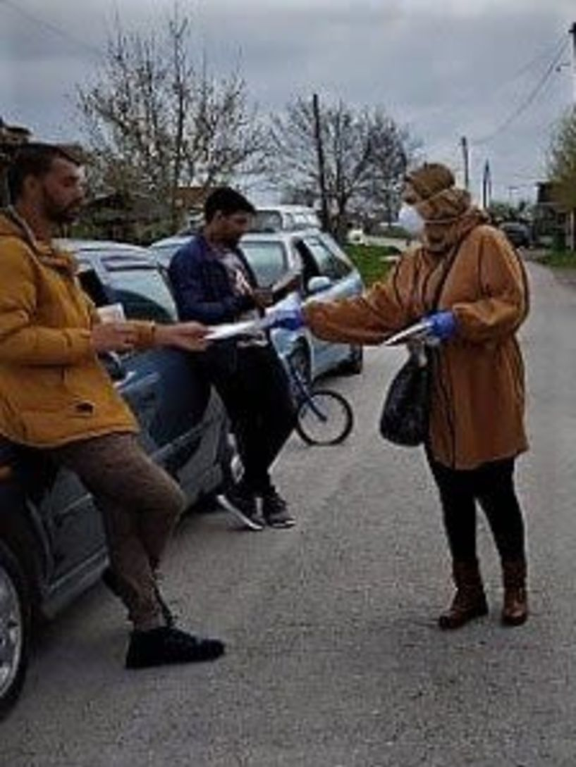 Δήμος Αλεξάνδρειας: Δράση ενημέρωσης σε ευάλωτες πληθυσμιακές ομάδες για την αντιμετώπιση της πανδημίας του κορωνοϊού