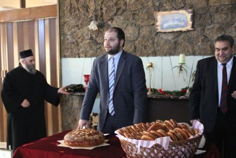 Δεξίωση Πρωτοχρονιάς από τον δήμο Νάουσας
