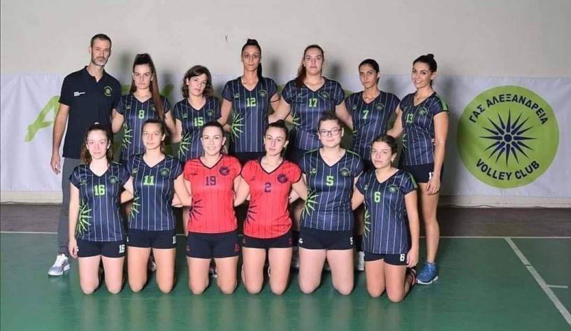 Βόλεϊ - Ο Γ.Α.Σ. ΑΛΕΞΑΝΔΡΕΙΑ κατέκτησε την 2η θέση στο πρωτάθλημα της Β' Εθνικής κατηγορίας