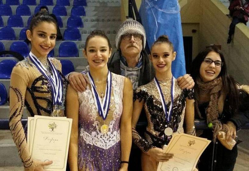 Έξι μετάλλια κατέκτησε η ομάδα  ρυθμικής  του Φιλίππου στην Θεσσαλονίκη