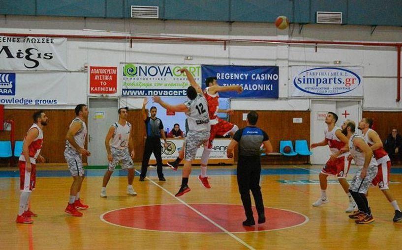 Γ' εθνική μπάσκετ .ΓΕ Αγρινίου – ΑΟΚ Βέροιας  69-71